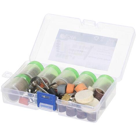 217 pieces d'accessoires de meuleuse electrique, gravure, polissage et decoupe, gravure, accessoires de meuleuse electromecanique