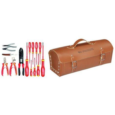 2180.SE Sélection électronique 15 outils plus sacoche cuir