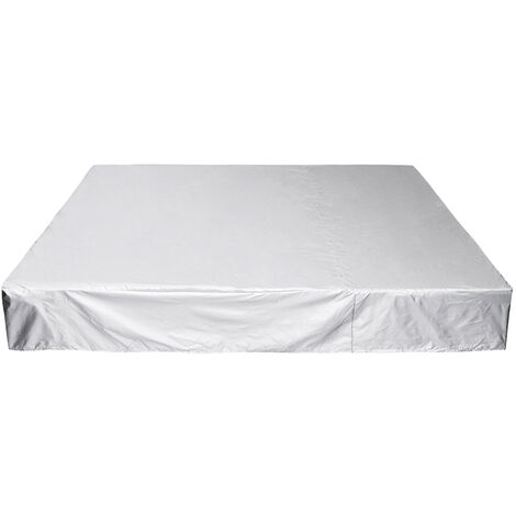 218x218x30cm Protective cover Sun lounger cover PE fabric