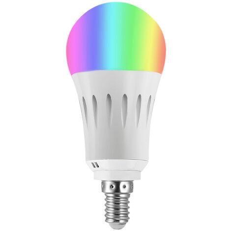 2198 Bombilla LED WIFI inteligente , Bombilla LED multicolor RGB con luz WIFI , 9W E14