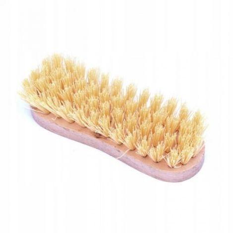 21cm Rice Scrub Brush, PVC, wooden, p