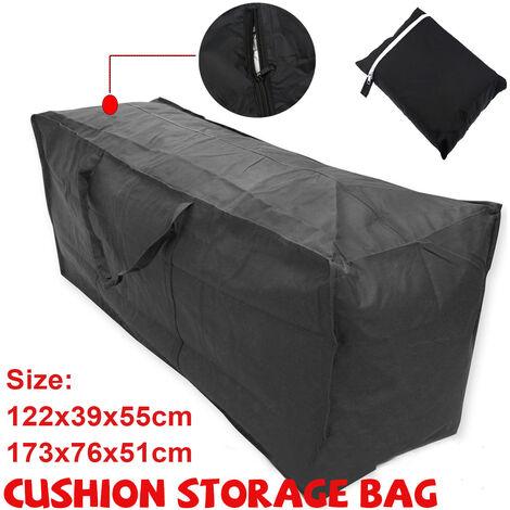 "main image of ""21D Oxford Cloth Outdoor Furniture Cushions Pocket Cushion Storage Bag (173x76x51cm)"""