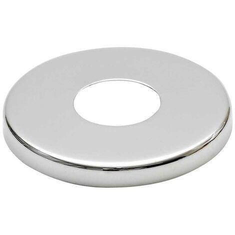 """21mm (1/2 """") Collar chromé robinet en acier haute robinet couvercle couvercle rose hauteur 8mm"""