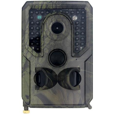 21MP 1080P HD Caméra de Chasse Caméra de Surveillance Étanche 34 LEDs Grand Angle 120 ° De Vision Nocturne 10m Traque IR Caméra de Jeu Nocturne Infrarouge.