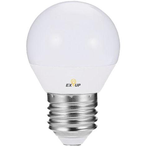 220-240V Ampoules Led 7W E27 Led Spotlight Ampoule Lampe Globe Ampoules Led Filament Interieur Givre Ampoule Pour L'Eclairage De Plafond Blanc Chaud 1Pc