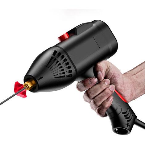 220 V 3000W Maquina de soldadura electrica portatil de mano Maquina de soldadura inteligente digital automatica para el hogar Perilla de ajuste de empuje de corriente Adecuado para electrodo de 2,5 / 3,2 mm Espesor de soldadura de 2 ~ 14 mm