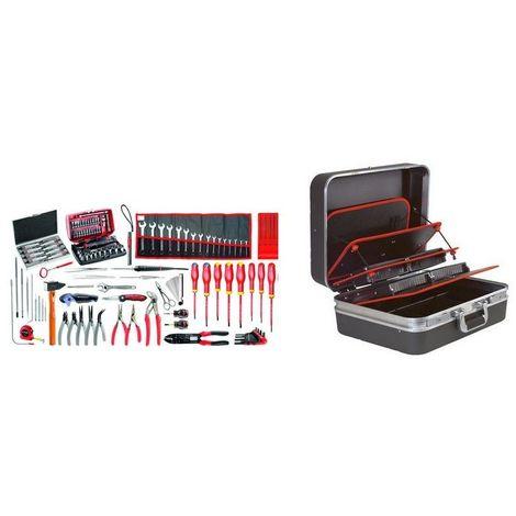2208.EM41A Sélection électromécanique 120 outils plus valise technicien