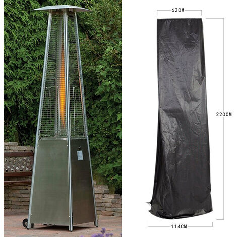220cm Large Pyramid Patio Gas Heater Cover Waterproof Protective Garden Covers