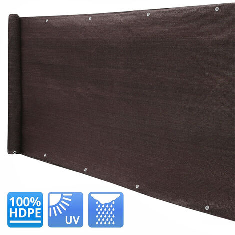 220g/m² Garden Privacy Shade Net Wall Screening Netting Balcony Windbreak Fence