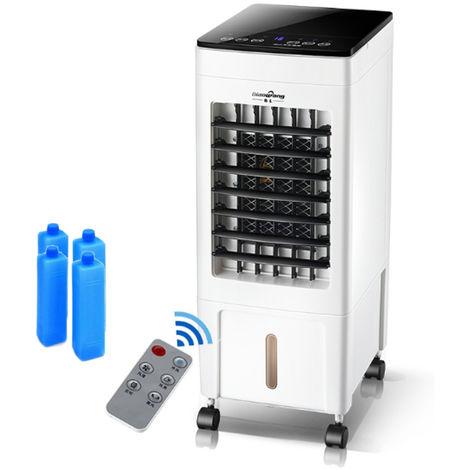 220V 8L Portable Climatisation Ventilateur Humidificateur Refroidisseur Système de Refroidissement