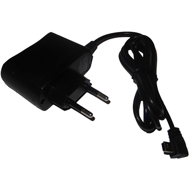 Vhbw - 220V Bloc d'alimentation chargeur (1A) avec mini-USB pour Falk P250 P300 P320 R350 R300 S100 S390 S400 S450 V600 E30 E60 F3 F4 F5 F6 F8 F10