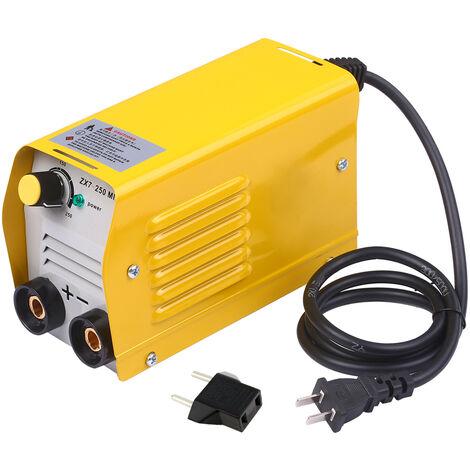 220v mini machine asouder electrique standard sans fil de poignee de soudage et fil de terre, norme europeenne