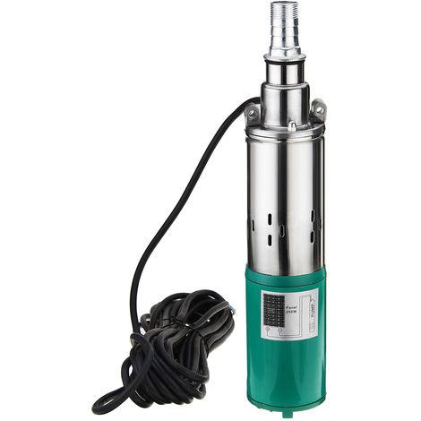 """main image of """"220w 12V 1.2m3 45m pompe de véhicule électrique pompe à eau profonde submersible solaire de puits"""""""