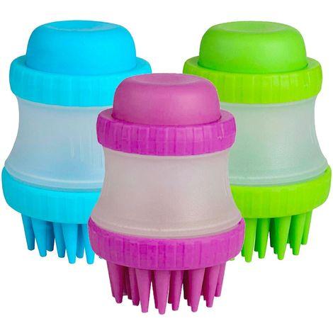 221158 Cepillo de silicona Gentle Dog Washer dispensador de jabón para perros