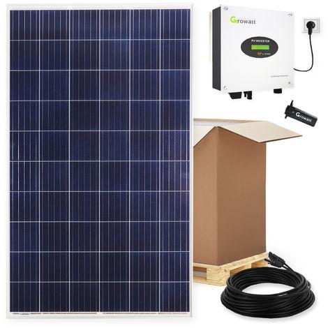 2240 Watt Plug & Play Solaranlage für die Steckdose Photovoltaik mit WiFi