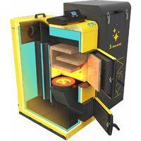 22kW Power Efficient Heating 5th Energy Class Boiler Eco-Pea Coal PerEko KSM