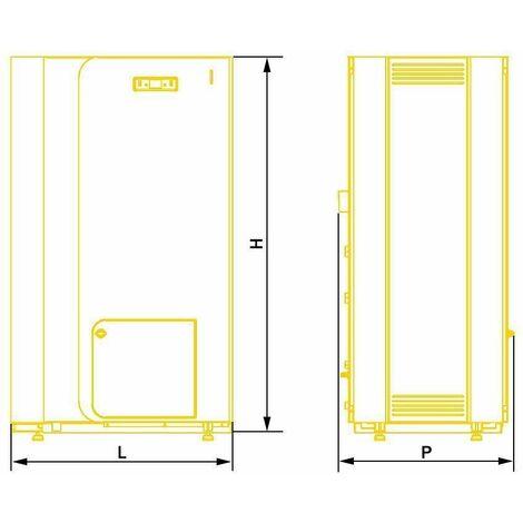 22kW Power Efficient Heating 5th Energy Class Boiler Wood Pellet PerEko KSP Spark
