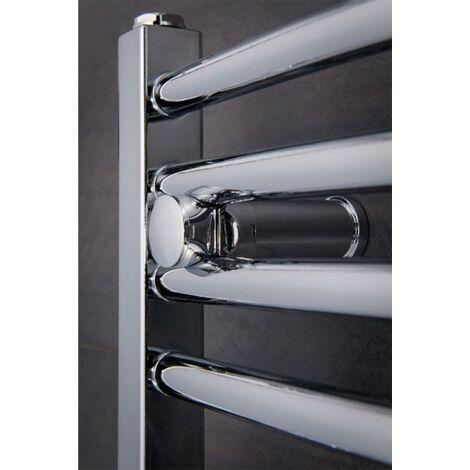 22Mm Ladder Curved Tube Towel Rail Chrome 1000Mm High X 600Mm Wide 1409 Btu'S