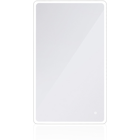 22W Miroir LED Lampe de Miroir 120×70CM Miroir Lumineux Verre Trempé Blanc Froid 6400K