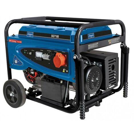 230V 400V PETROL GENERATOR4 STROKE 5500W 15 HP SCHEPPAH SG7100