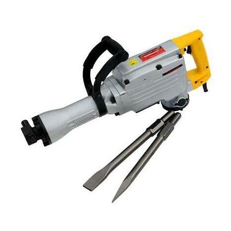230V Concrete Breaker Demolition Hammer w/ Chisels/Case
