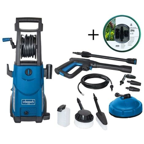 230V ELECTRIC HIGH PRESSURE CLEANER 105 BAR 2200W SCHEPPACH HCE2200 + 20MT HOSE