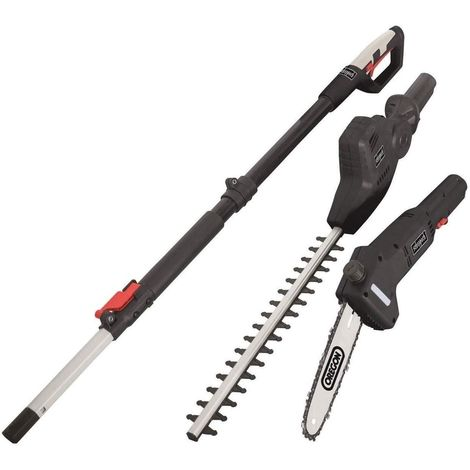 "230V ELECTRIC MULTI-TOOL OREGON 8"" POLE SAW HEDGE TRIMMER 245MM SCHEPPACH TPX710"