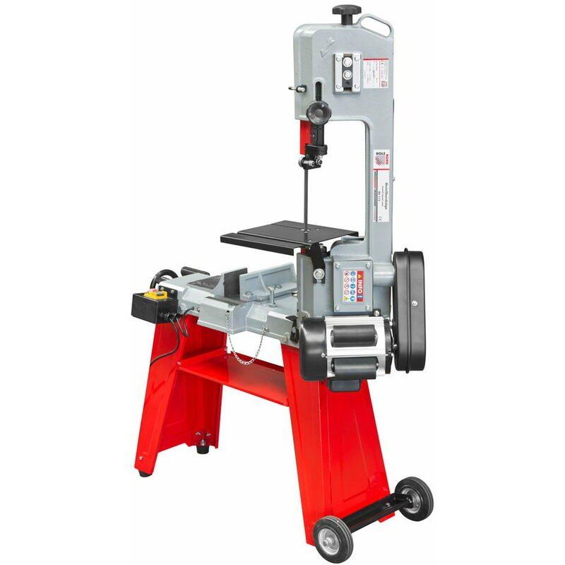 Image of Holzmann BS115 Metal Cutting Bandsaw | 140mm x 110mm - 3 Speed - 550w - 230v