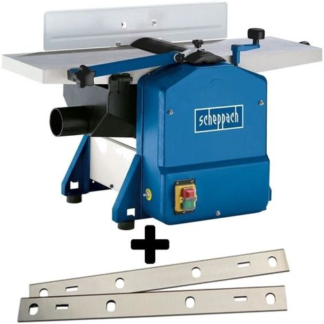 230V PLANER THICKNESSER SCHEPPACH HMS850 + REPLACEMENT 2 PLANING KNIVES
