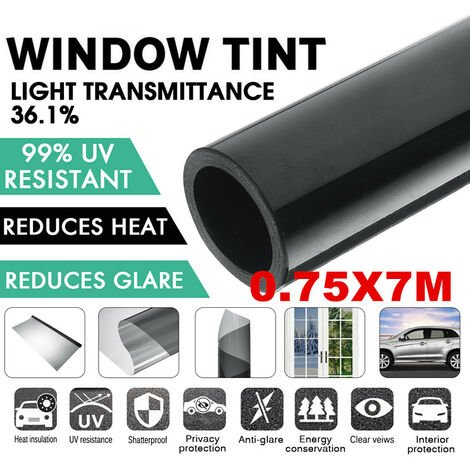 23x2.5FT VLT Car Auto Home Window Tint Tint Film Roll With Scraper Glass Car Accessories Auto Window Tint Film Roll