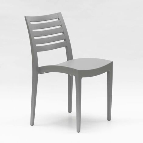 Soleil 24 Chaises Offre Restaurant Promo Firenze Polypropylène Grand 9ID2HE