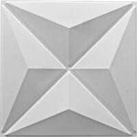 24 pcs Wall Panel 3D 0.5x0.5 m 6m²