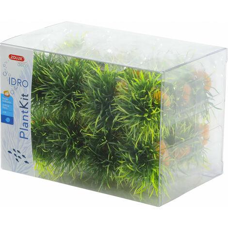 24 petits buissons. déco plant kit idro . hauteur 3 cm. ø 3.5 cm environ.