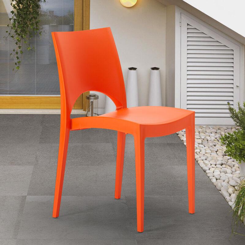 Sedie In Polipropilene Colorate.24 Sedie Paris Grand Soleil Polipropilene Colorate Bar Offerta Stock