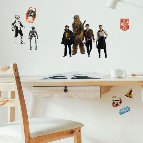 24 Stickers Star Wars - modèle Solo a Star Wars Story