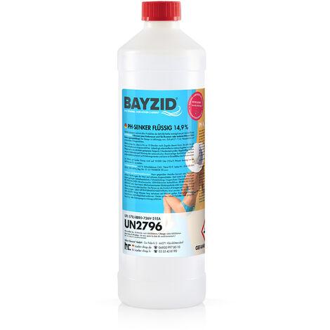 24 x 1 kg Bayzid pH moins liquide 14,9%