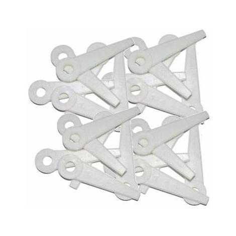 24 x Plastic Blades Fits Stihl Polycut 6-3, 20-3, 10-3, 41-3