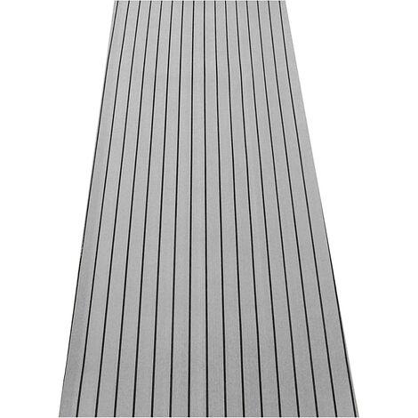 240 * 45CM EVA Foam Flooring Mat Teck Boat Sheet Floor Decking Yacht Marine Carpet Mohoo