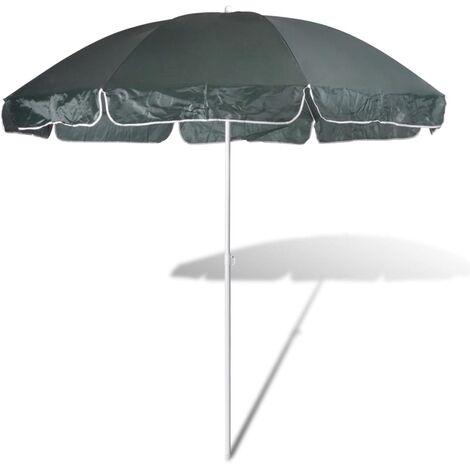 240cm Parasol de plage vert