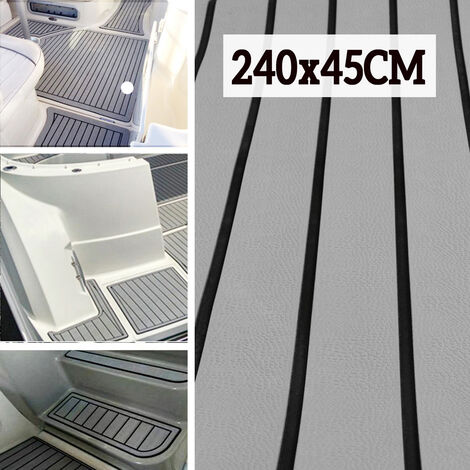 240x45cm EVA Foam Boat Floor Marine Decking Sheet Anti-slip Floor Yacht Mohoo