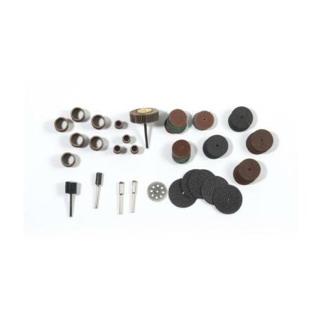 242 Accessoires de ponçage et ébarbage pour outils rotatifs multifonctions - mini perceuse