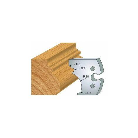 524 50 x 4 mm Jeu de fers enture 5 mm pour porte outils
