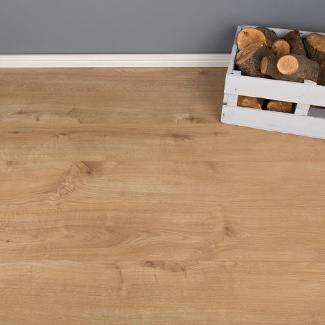 247m2 Heavy Domestic And Moderate Ac3 Laminate Flooring Sherwood Oak 7mm P 952519 8633547 1