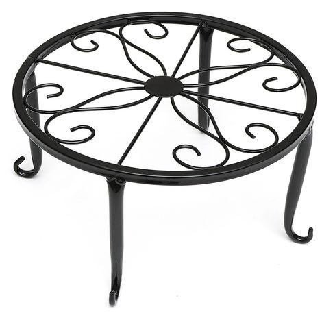24cm Modern Metal Support for garden table decoration flowerpot