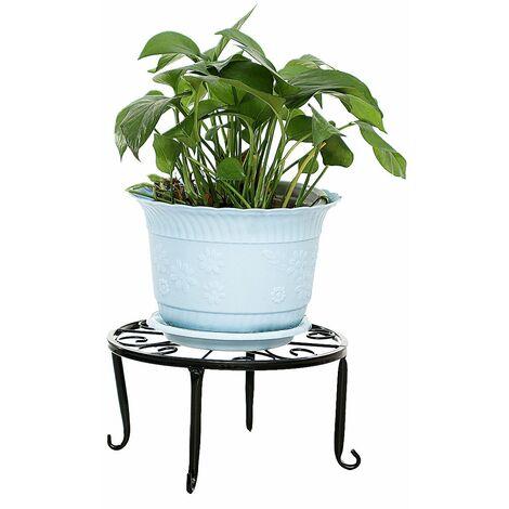 24cm Modern Support Métal pour pot de fleurs déco jardin table