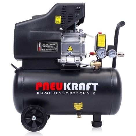 24L Air compressor - 2.5HP 9.6CFM 116PSI 1.8kW