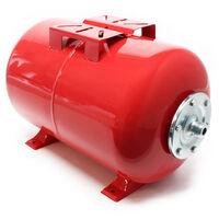 24Litres Réservoir pression à vessie pour la surpression domestique, cuve, ballon, suppresseur pompe