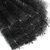 24m Roof gutter brush 120cm Ø 8 cm foliage and marten protection 20 pcs