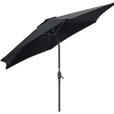 2.4m Tilting Parasol With Crank Handle