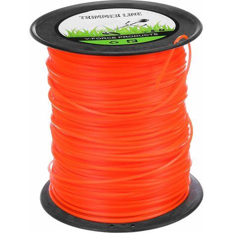 2.4mm x 261m Heavy Duty Nylon String Trimmer Line Brush Cutter Cord Rope